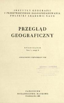 Przegląd Geograficzny T. 50 z. 4 (1978)