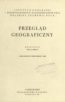 Przegląd Geograficzny T. 50 z. 3 (1978)