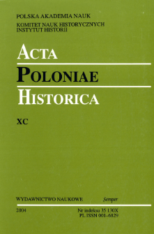 The Peasants' Religiousness. Side-notes to Tomasz Wiślicz's book: To Earn Spiritual Saluation. The Religiousness of Peasants in Little Poland From the Mid-16th till the End of the 18th Centuries