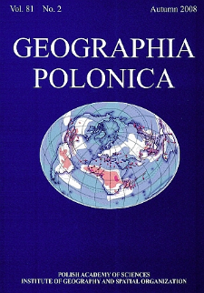 Geographia Polonica Vol. 81 No.2 (2008)