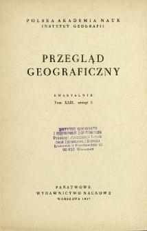 Przegląd Geograficzny T. 29 z. 2 (1957)