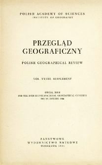 Przegląd Geograficzny T. 28 Supplement (1956)