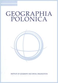 Geographia Polonica Vol. 94 No. 1 (2021), Contents