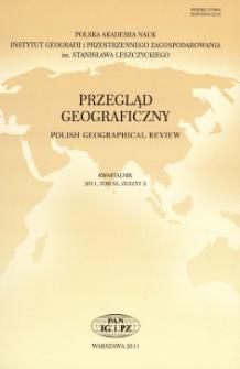 Współczesne kierunki i podejścia badawcze w geografii wsi = Contemporary trends and approaches in rural geography