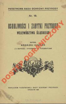 Osobliwości i zabytki przyrody województwa śląskiego