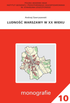 Ludność Warszawy w XX wieku
