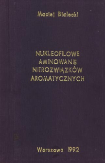 Nukleofilowe aminowanie nitrozwiązków aromatycznych