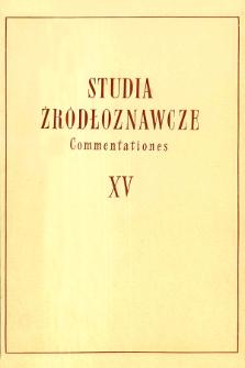 Mentalność Jana Długosza w świetle jego twórczości