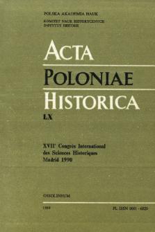 Bibliographie des travaux des historiens polonais, parus en langues étrangères dans les années 1983-1987