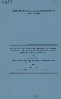 The breeding biology of equatorial vertebrates: reproduction of the bat Chaerephon hindei Thomas at latitude O° 26' N