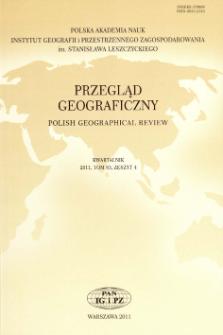 Przegląd Geograficzny T. 83 z. 4 (2011), Wspomnienia