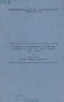 Numerical data, maintenance activities and locomotion of the wild chacma baboon, Papio ursinus