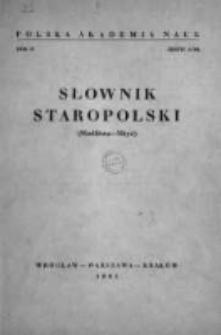 Słownik staropolski. T. 4 z. 5 (24), Modlitwa-Mżyć