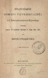 Sprawozdanie Komisji Fizjograficznej T. 2 (1867)