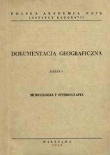 Morfologia i hydrografia