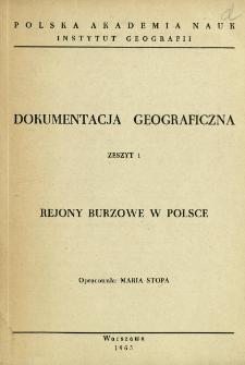 Rejony burzowe w Polsce
