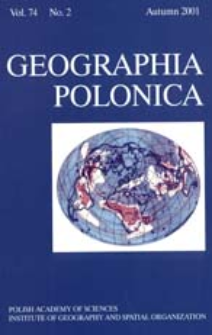 Geographia Polonica Vol. 74 No. 2 (2001), Papers in Global Change IGBP, No. 8