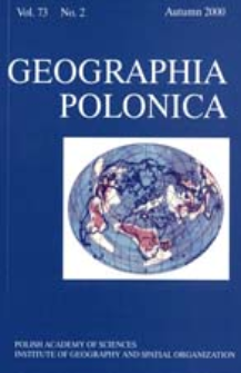 Geographia Polonica Vol. 73 No. 2 (2000), Papers in Global Change IGBP, No. 7