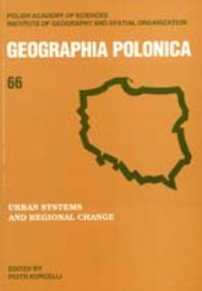 Geographia Polonica 66 (1995)