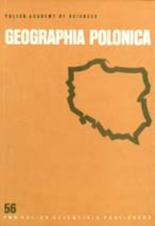 Geographia Polonica 56 (1989)