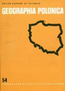 Geographia Polonica 54 (1988)