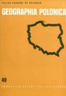 Geographia Polonica 40 (1979)