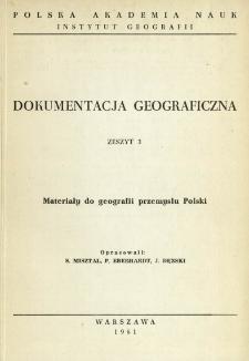 Materiały do geografii przemysłu Polski