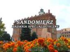 Sandomierz : specialized research
