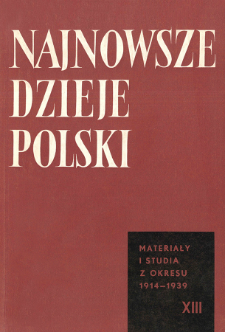 Tajne organizacje wojskowe na Górnym Śląsku w latach 1918-1921 na tle sytuacji ogólnej