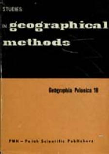 Geographia Polonica 18 (1970)