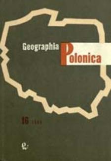 Geographia Polonica 16 (1969)