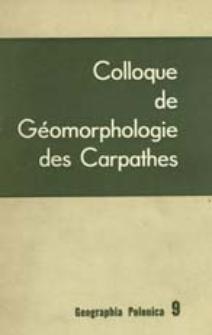 Geographia Polonica 9 (1965)