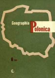 Geographia Polonica 6 (1965)