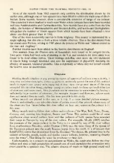 The distribution of the polecat, Putorius putorius in Great Britain, 1963-67