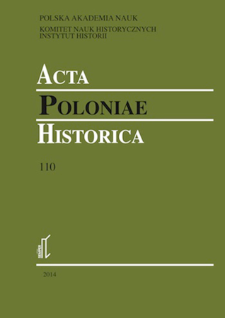 Acta Poloniae Historica. T. 110 (2014), Short notes