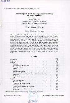 The ecology of Wood mice (Apodemus sylvaticus) on arable farmland