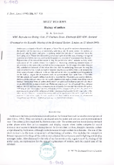 Brief reviews. Biology of antlers