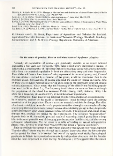 On the nature of denetical distance and island races of Apodemus sylvaticus