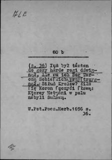 Kartoteka Słownika języka polskiego XVII i 1. połowy XVIII wieku; Ale 2