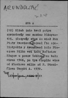 Kartoteka Słownika języka polskiego XVII i 1. połowy XVIII wieku; Arendować - Asystencja