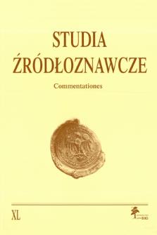 Święty Wojciech w środkowoeuropejskiej tradycji hagiograficznej i historycznej