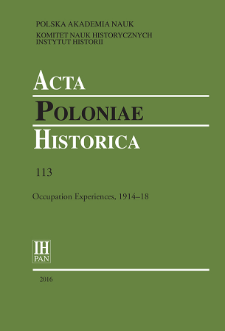 Acta Poloniae Historica. T. 113 (2016), Short notes
