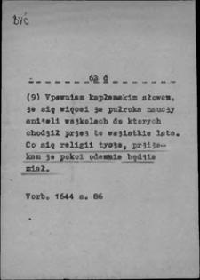 Kartoteka Słownika języka polskiego XVII i 1. połowy XVIII wieku; Być11