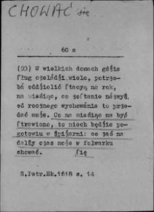 Kartoteka Słownika języka polskiego XVII i 1. połowy XVIII wieku; Chować się - Chrześcijanin