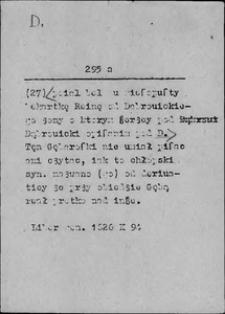 Kartoteka Słownika języka polskiego XVII i 1. połowy XVIII wieku; D - Dać
