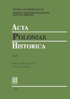 Acta Poloniae Historica T. 115 (2017), Short Notes