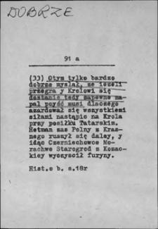 Kartoteka Słownika języka polskiego XVII i 1. połowy XVIII wieku; Dobrze2 - Docucić się