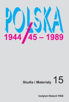 Zdjęcia lotnicze i materiał DNA w procesie identyfikacji skazanych na karę śmierci i rozstrzelanych w Polsce w latach 1944–1956 – zarys problematyki
