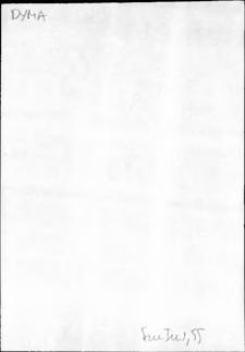 Kartoteka Słownika języka polskiego XVII i 1. połowy XVIII wieku; Dyma - Dystrakacja