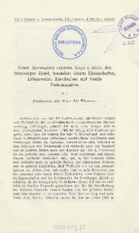 Ueber Spermophilus rufescens Keys. u. Blas., den Orenburger Ziesel, besonders dessen Eigenschaften, Lebensweise, Knochenbau und fossile Vorkommnisse